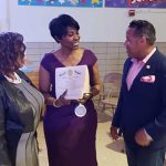 Executive Director receives award on International Women's day - New Jersey